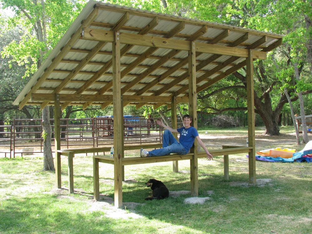 Eagle Project, Pavilion